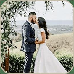 Съемка свадебной церемонии