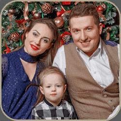 Семейная фотосессия с мужем